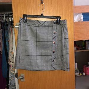JOA Plaid skirt